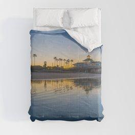 Wet Sand Sunrise Comforters