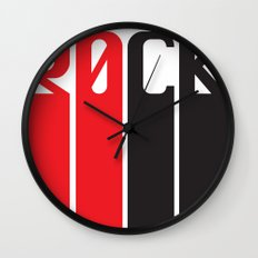 30CK - ROCK Wall Clock