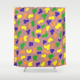Blob Art #1 Shower Curtain