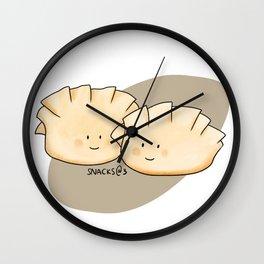 Darling Dumpling Pair Wall Clock