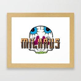 Milhaus crew logo Framed Art Print