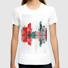 Karachi Skyline Pakistan T-shirt