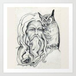 Endor The Wizard Art Print