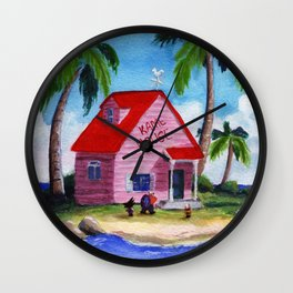 Kame House 2 Wall Clock