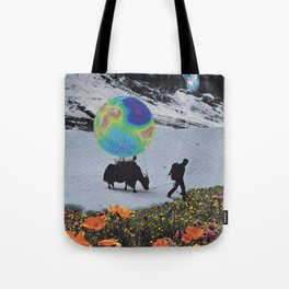 The Last Ice Age Tote Bag