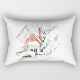 Chtistmas house  Rectangular Pillow