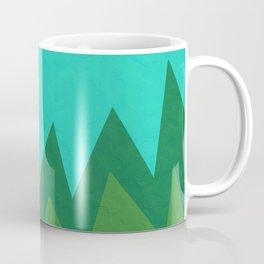 Green Summer Forest Coffee Mug