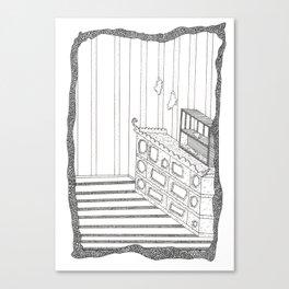rooms are fun Canvas Print