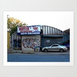 Queens Chop Shop 2017 Art Print