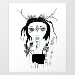 Migration Anxiety Art Print