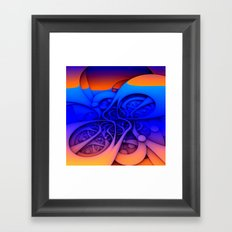Feelin' Groovy Framed Art Print