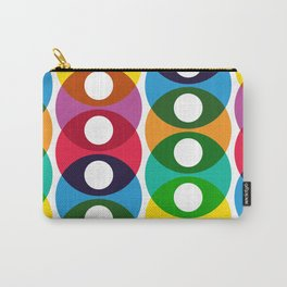 Geometric Pattern #64 (colorful bubbles) Carry-All Pouch