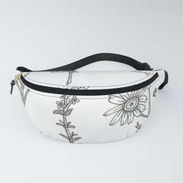 Kitchen Herbs Fanny Pack