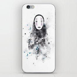 No Face iPhone Skin
