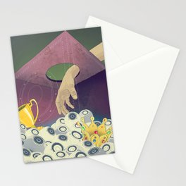 Looking  for the perfect beat Stationery Cards