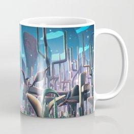 Plasticine Rose Field Coffee Mug