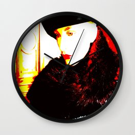 Cotton Club The Ice Queen Wall Clock