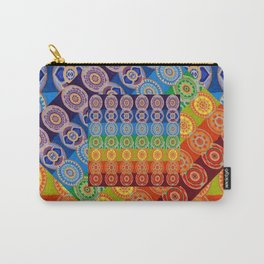 7 CHAKRA SYMBOLS OF HEALING ART #2 Carry-All Pouch