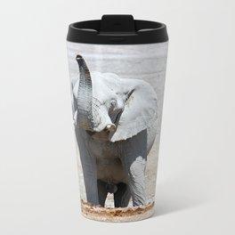 NAMIBIA ... Elephant fun III Metal Travel Mug