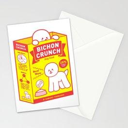BICHON CRUNCH Stationery Cards