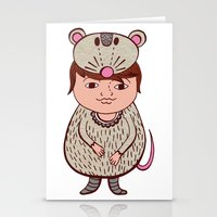 mouse Stationery Cards featuring Mouse by Carmen Sarrion
