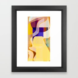 Standing Repose Framed Art Print