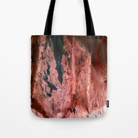 geology Tote Bags featuring Copper Sheet by Whimsy Notions Designs