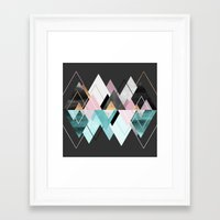 nordic Framed Art Prints featuring Nordic Seasons by Elisabeth Fredriksson