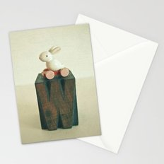 W is for Wheels Stationery Cards