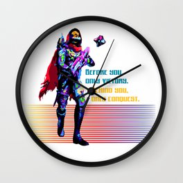 Victory and Conquest Wall Clock
