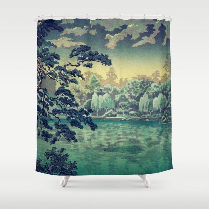 At Yasa Bay Shower Curtain