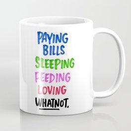 Adulting (+ Whatnot.) Coffee Mug
