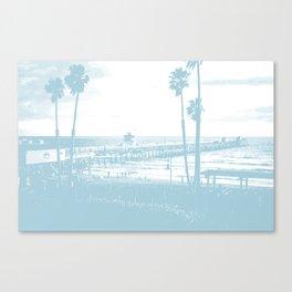 San Clemente Pier, Southern California Canvas Print