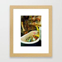 Tubz Framed Art Print