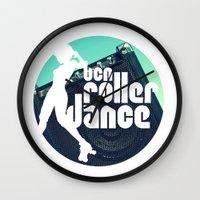 logo Wall Clocks featuring Logo by BCN Roller Dance