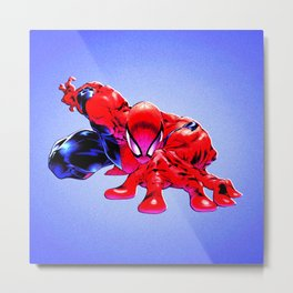 spider man Metal Print