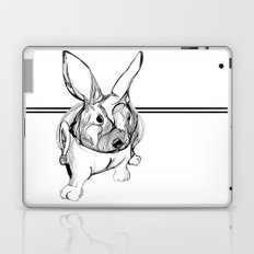 white rabbit Laptop & iPad Skin
