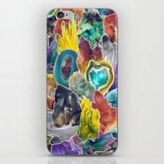 Crystals II iPhone & iPod Skin