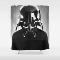 vader Shower Curtains featuring VADER  by NOXBIL