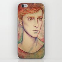 kieren walker iPhone & iPod Skins featuring Kieren II by FlockeInc