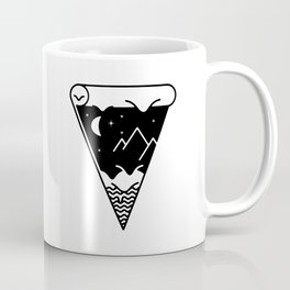 Slice of the melting night landscape Coffee Mug