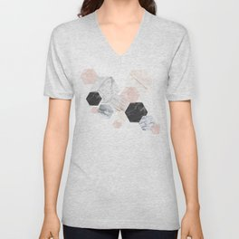 Lost in Marble Unisex V-Neck