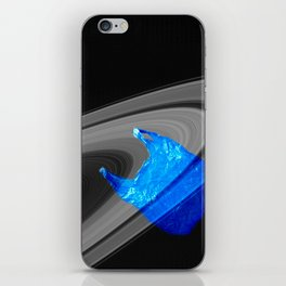 Echoes of intergalactic consumerism iPhone Skin