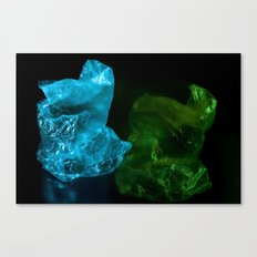 Recycling Plastic Canvas Print