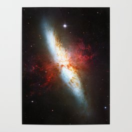 Galaxial Hydrogen Plumes Poster