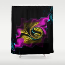 Whispers in the Night Shower Curtain