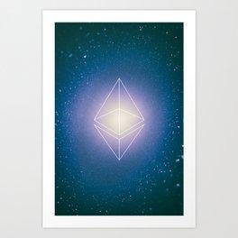 Ethereum Poster Art Print