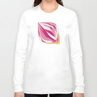 icecream Long Sleeve T-shirts featuring Icecream by Vítor Galvão