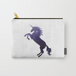 Unicorn and stars Carry-All Pouch