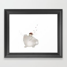 Ringo Smallz and his Mother Framed Art Print